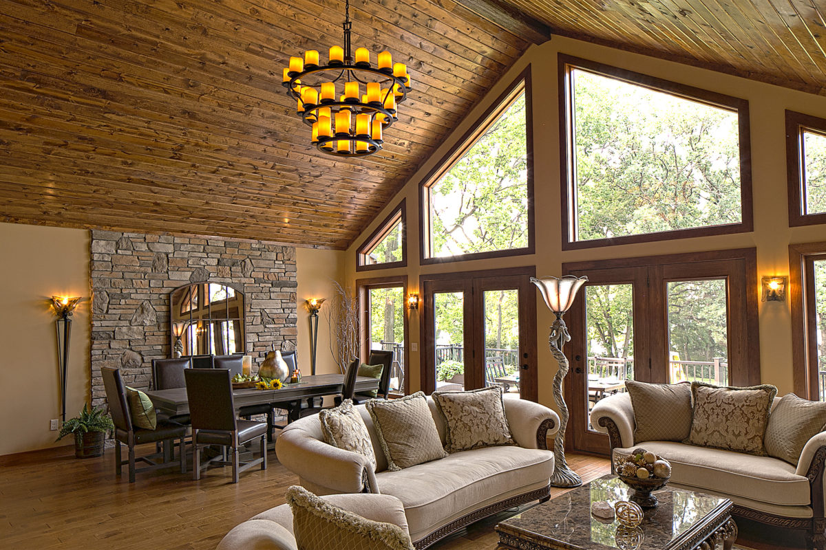 Aeris Shaped Windows - Great Room